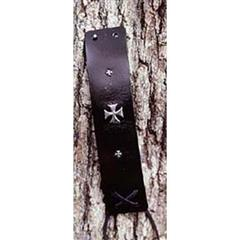 Gothic Cross Leather Wristbands