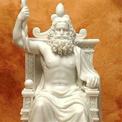 Greek God Statue Zeus