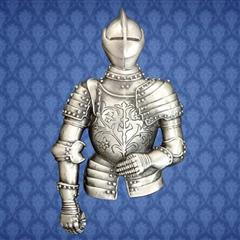 Half Suit Of Armor Knightly Pin
