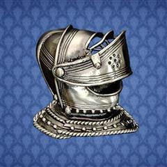 Helmet Knightly Pin