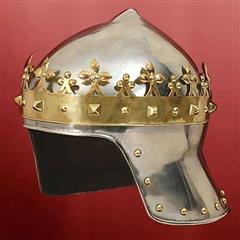 Helmet with Crown