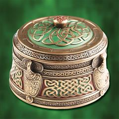 Celtic Pattern Trinket Box