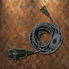 Edison Pendent Light Cord with Switch