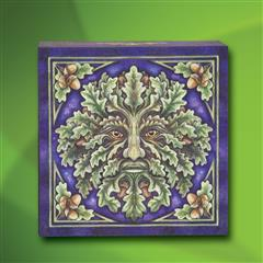 Green Man Mirror Box