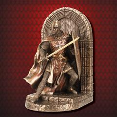 Hospitaller Knight Defense of the Realm Bookend