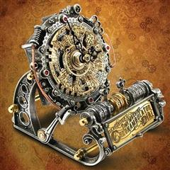 Time Machine Chronambulator Dial Clock