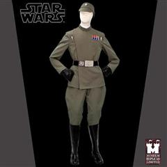 Imperial Fleet Officer Full Ensemble with Boots