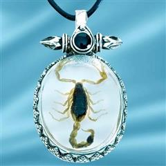 Insect Art Scorpion Necklace