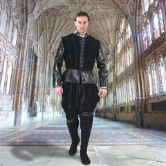 Duke of Suffolk Faux Leather Doublet