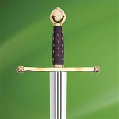 King John Sword w/ Plaque