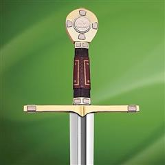 King Richard Sword w/ Plaque