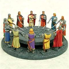 Knights of the Round Table Centerpiece