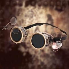 Magnificator Spelunker Brass Goggles