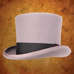 Victorian Top Hat - Grey