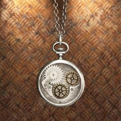 Compass Gear Pendant