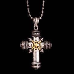 Cross of Chaos Necklace