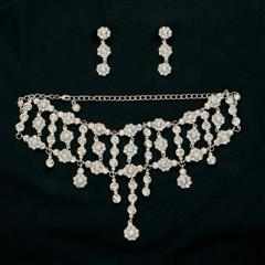 Crystal Necklace & Earrings