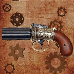 Pepper Box Replica Revolver