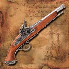 Death's Head Flintlock Pistol