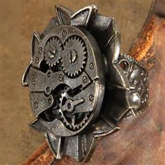 Watch Gears Antiqued Steampunk Ring