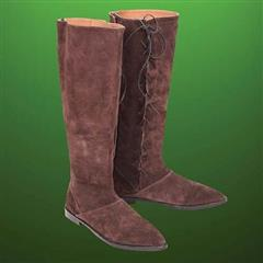 Robin Hood Tall Suede Boots