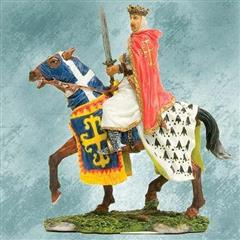 Royal Horseman Figurine
