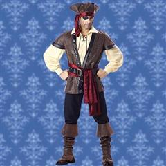 Rustic Pirate Complete Costume