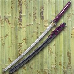 Thunder God Damascus Katana