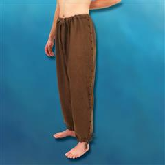 Hand-Stitched Men's Drawstring Pants