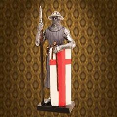 Crusader Man-At-Arms Statue