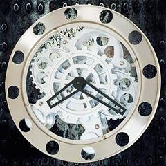 The Steampunk Gear Wall Clock