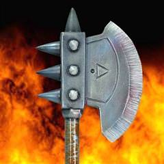 Vanquisher Battle Axe - Latex