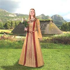 Viking Queen Gown
