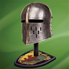 William Marshal Helmet w/ Stand
