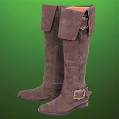 Maid Marion Tall Suede Boots