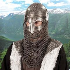 Bascinet with Chain Mail