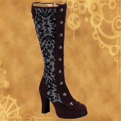 Steampunk Boots & other Footwear