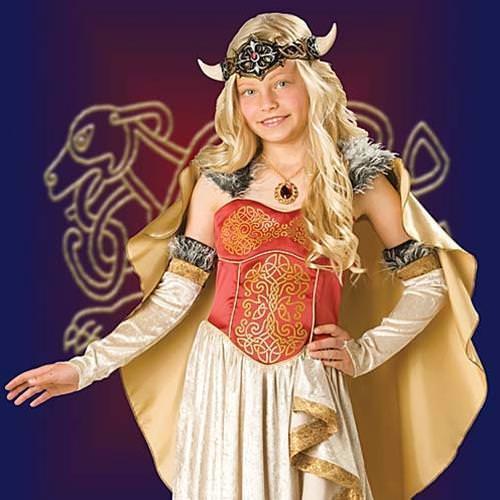 Viking Girl Costume Viking Princess Girl's Costume