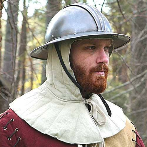 Battle Of The Kettles: Padded Medieval Coif