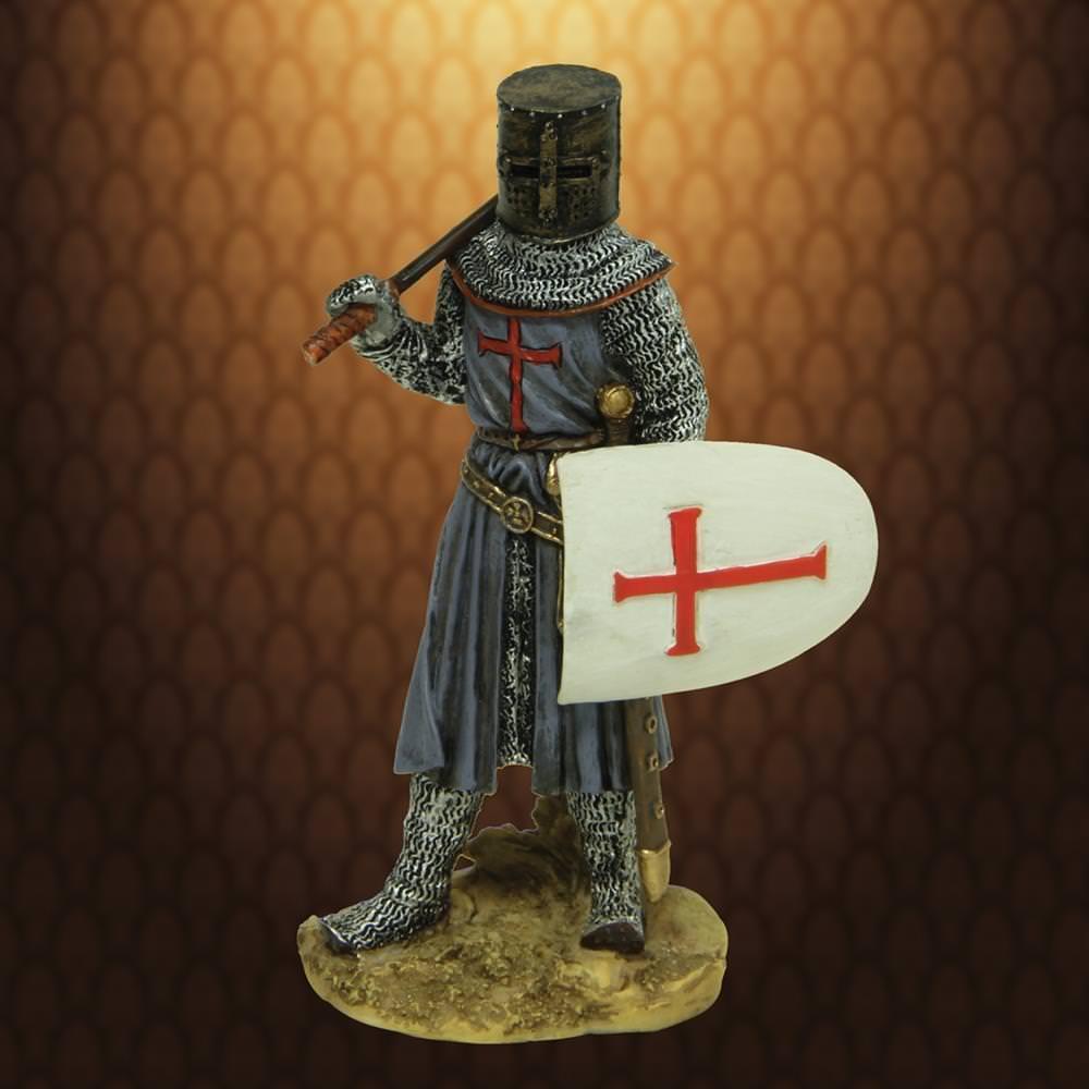 Armored Crusader Statue