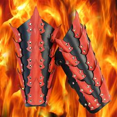 Dragon King Leather Greaves