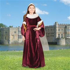 Queen Guinevere Girls Gown