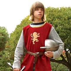Boys Knightly Tunic & Mail