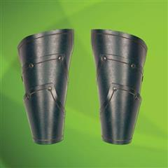 Elven Green Leather Vambraces