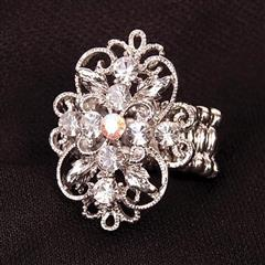 Bejeweled Adjustable Ring