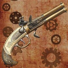 Black Powder Revolver
