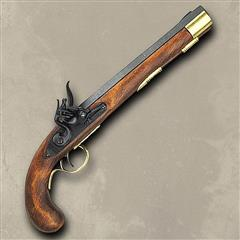 Military Flintlock Pistol