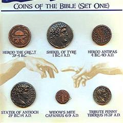Coins of the Bible, Set One
