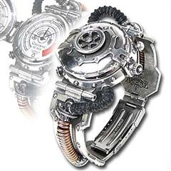 EER Steam Powered Entropy Calibrator Wristwatch