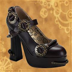 Demon Mary Jane Platform Shoes